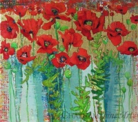 81413c_new_red_poppies_1454_32x36_o_c_23kt_gold_leaf_2