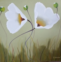 80949c_white_poppies_on_olive_48_x_48